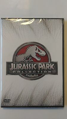 Jurassic Park Collection (4 Dvd) Cofanetto Unico, Italiano, Nuovo