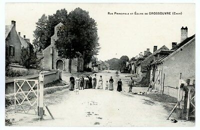 (S-19734) FRANCE - 18 - GROSSOUVRE CPA      L HIRONDELLE  ed.
