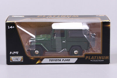 Toyota FJ40 1:24 Model Cars Toys Collection&Gifts Alloy Diecast In Box Green New