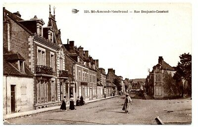 (S-102572) France - 18 - St Amand Montrond Cpa