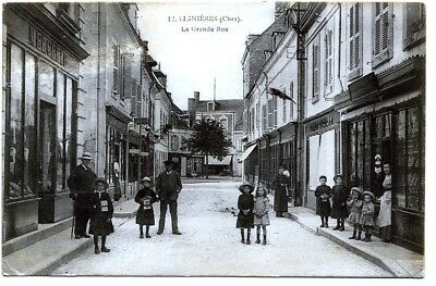 (S-102664) FRANCE - 18 - LIGNIERES CPA      E.M.B. ed.
