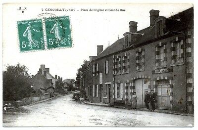 (S-102701) FRANCE - 18 - GENOUILLY CPA      E.M.B. ed.