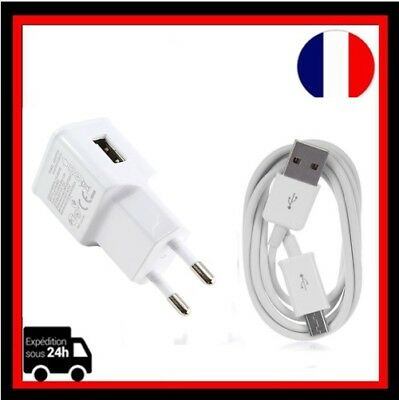 USB Chargeur Adaptateur  Mural Voyage +Cable Micro USB Pr Samsung,Smartphone/Lot