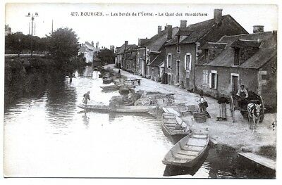 (S-102642) FRANCE - 18 - BOURGES CPA      E.M.B. ed.