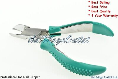TOENAIL CLIPPERS Heavy Duty THICK NAIL Cutter Nipper - Chiropody TOE NAIL Cutter