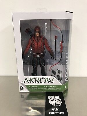 DC Collectibles Arrow TV Show Arsenal Action Figure NEW SEALED