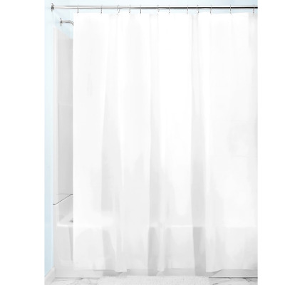 Soft Waterproof Quality Fabric Shower Curtain Liner Free PVC Mold 72Aa
