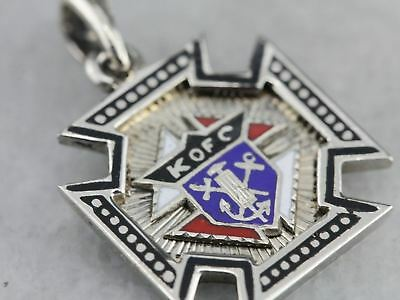 Knights of Columbus Fraternal Pendant