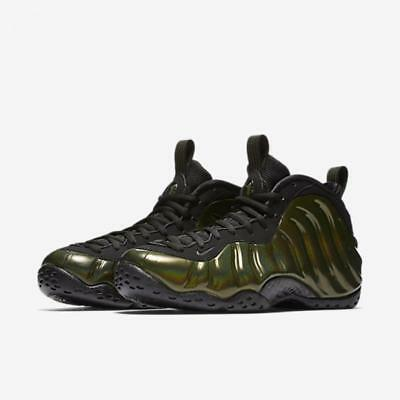 "Nike Air Foamposite One ""hologram"" ""iridescent"" 314996 301 Legion Green/black"