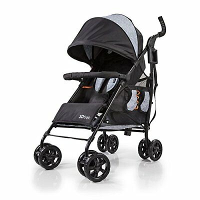 Summer Infant 3D Trek Convenience Stroller - Gravel Gray