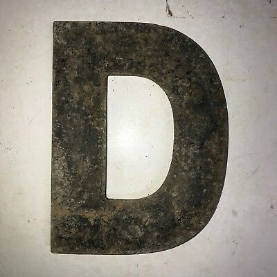 Vintage Marquee Theater Letter D Wagner Sign Service 8 Inch Antique D22