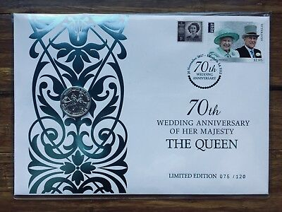 2017 70th WEDDING ANNIVERSARY OF THE QUEEN - Ballot Only 120 Produced #75 / 120