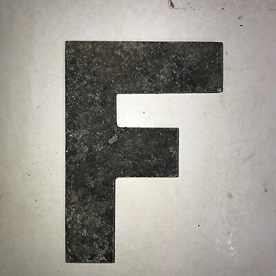 Vintage Marquee Theater Letter F Wagner Sign Service 8 Inch Antique F1