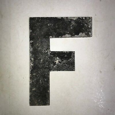 Vintage Marquee Theater Letter F Wagner Sign Service 8 Inch Antique F25
