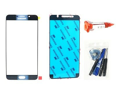 Black Sapphire front glass lens screen replacement Galaxy Note 5 N920 LCD Repair