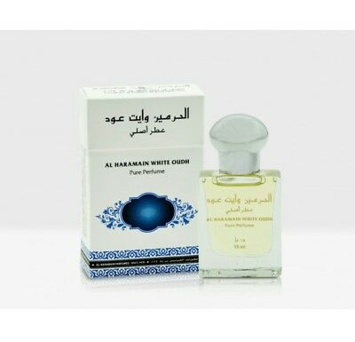 White Oudh 15ml by Al Haramain Attar Perfume oil  - Oudh, Patchouli, Vanilla