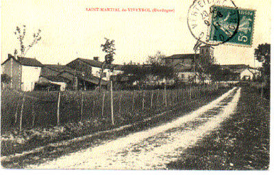 (S-85490) France - 24 - St Martial Viveyrol Cpa