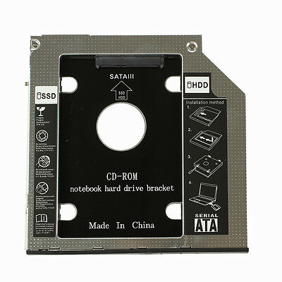 K9 HDD Hard Drive Caddy for DELL Latitude E6400 E6500 E6410 E6510 M2400 M4400