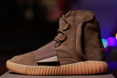 3510f87bd6da6 Adidas Yeezy Boost 750 Chocolate Brown Gum Size 10.5 BY2456 100% Authentic