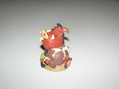 Disney Li'l Classics Lion King Pumpa Timon Plastic PVC Figure Cake Topper 3""
