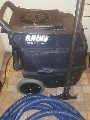 Tmi Rhino 220 Psi Pump 2 3 Stage Lamb Vacuums Carpet Cleaner Extractor Hose/wand