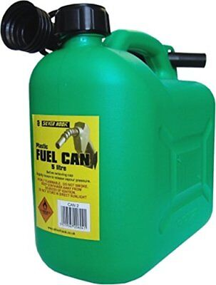 S STYLE UNLEADED PETROL CAN & SPOUT GREEN 5 LITRE Nuovo Bricolage 5019567206041