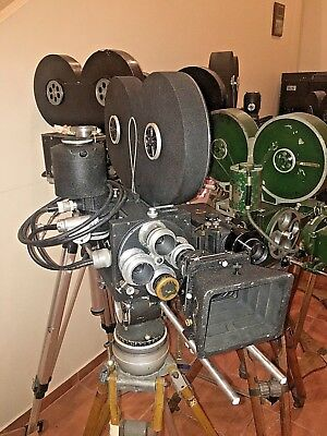MITCHELL 35mm Standard GC High Speed Motion Picture Camera System refurbished