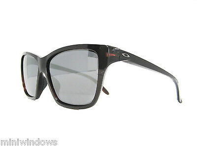 new authentic OAKLEY HOLD ON Sunglasses FROSTED RHONE / BLACK IRIDIUM OO9298-04