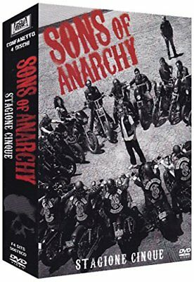 Cofanetto DVD SONS OF ANARCHY STAGIONE 5 ( 4 ) Charlie Hunnam 20th Century Fox