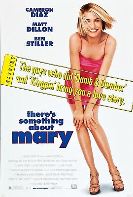 There's Something About Mary Cameron Diaz Original 27x40 Movie Poster 1998