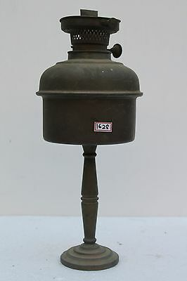 Antique Decorative Brass Rare Wall Hanging And Standing Kerosene Lamp NH1628
