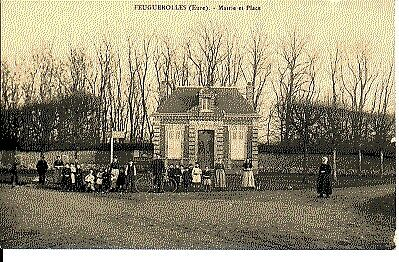 (S-73352) France - 27 - Feuguerolles Cpa