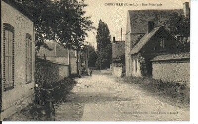 (S-79287) France - 28 - Cherville Cpa