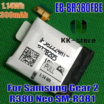 Original Watch Battery 1.14Wh 300mAh for Samsung Gear 2 Neo SM-R381 Gear 2 R380