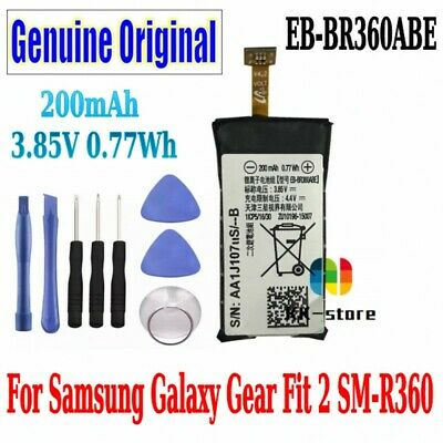 Original 200mAh Battery SM-R360 EB-BR360ABE Battery For Galaxy Gear Fit 2 R360