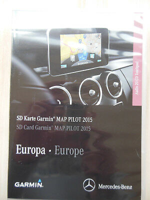 mercedes benz sd karte garmin map pilot 2014 europa audio. Black Bedroom Furniture Sets. Home Design Ideas