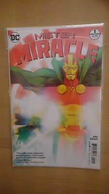 Mister Miracle #1   / 2017 DC  Unread RARE OOP