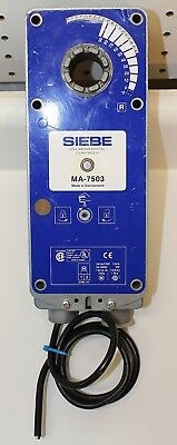 Duradrive Siebe Ma-7503  Two Position Actuator 24Vac/Dc