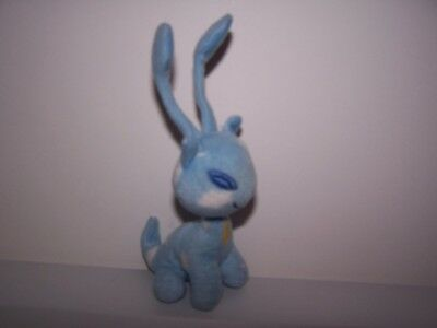 2004 Neopets Plush Blue Aisha Mcdonalds Animal Toy 6.5""