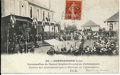 (S-24749) FRANCE - 36 - CHATEAUROUX CPA      E.G.  ed.