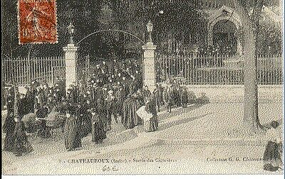 (S-24824) FRANCE - 36 - CHATEAUROUX CPA      G.G.  ed.