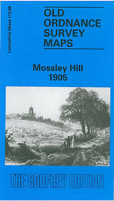 Old Ordnance Survey Map Mossley Hill 1905 Liverpool Aigburth Garston Allerton