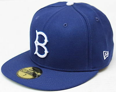 buy popular 858cb 1bfd4 Brooklyn Dodger Fitted Hat Cooperstown Collectible New Era 59 Fifty