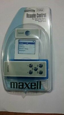 Remote control for 3G or 4G ipod