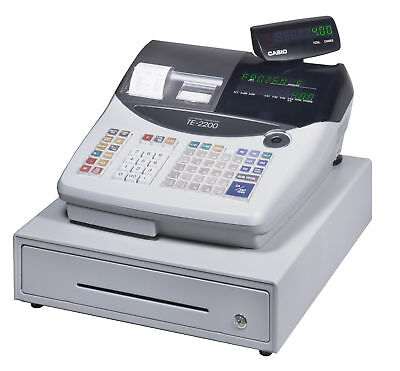 Casio TE-2200 Electronic Cash Register - POS Point of Sale
