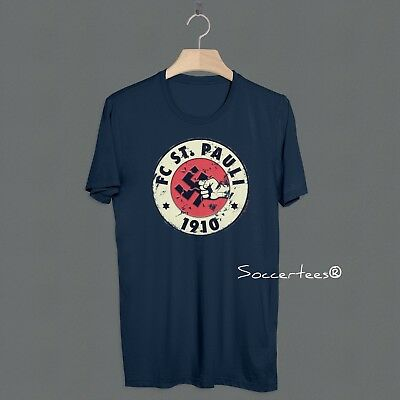 Football St Pauli FC Casuals T Shirt Awaydays Top Ultras Dressers Hooligan  Away 957592507