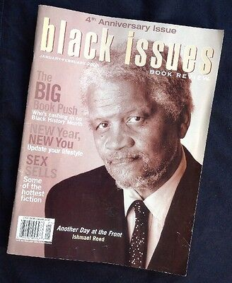 2003 Black Issues Book Review African American Magazine Ishmael Reed Preowned