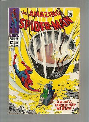 Amazing Spider-Man 61 Silver Age Lot What A Tangled Web We Weave! Romita!