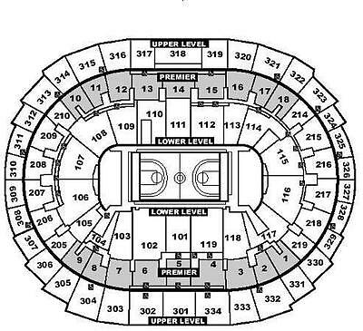 (2) LOS ANGELES LAKERS vs Dallas Mavericks 2/23/18 tickets Sec321 Row9 ($75)