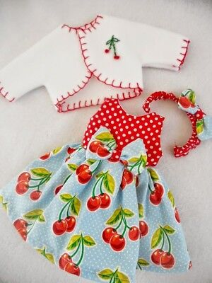 "Doll Dress For 14"" American Girl Wellie Wishers CHR4"